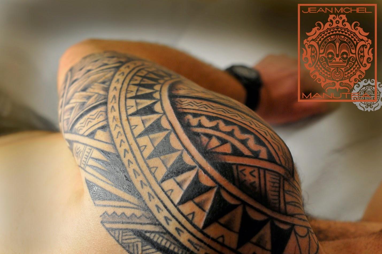 tatouage polynesien polynesian tattoo tribal polynesien. Black Bedroom Furniture Sets. Home Design Ideas
