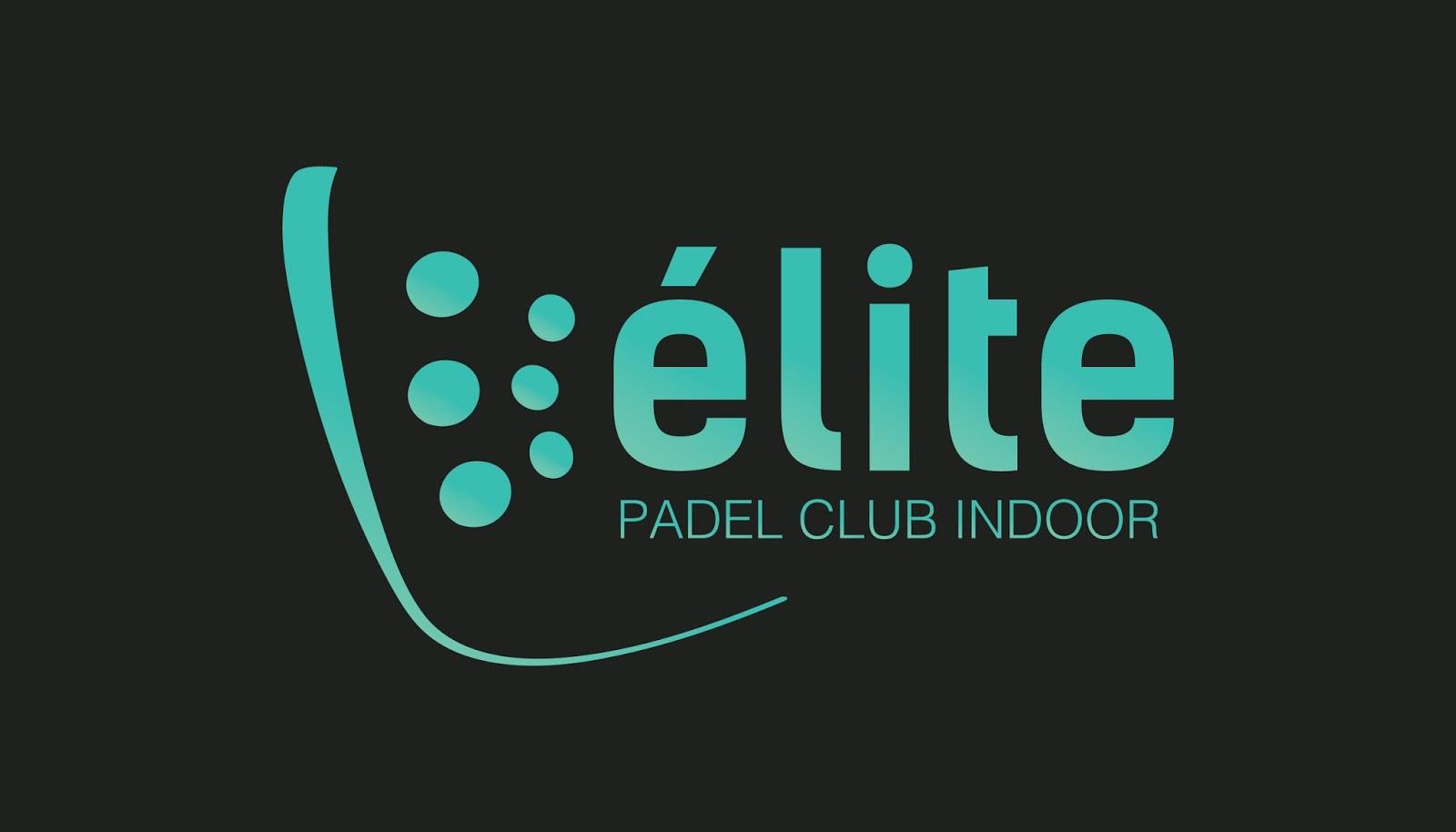 Logo del club de pádel indoor, ubicado en Almería, Élite Pádel Club.
