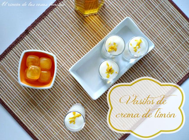 crema mousse de limon leche condensada