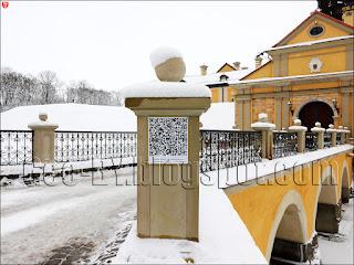 QR-Код у входа в замок