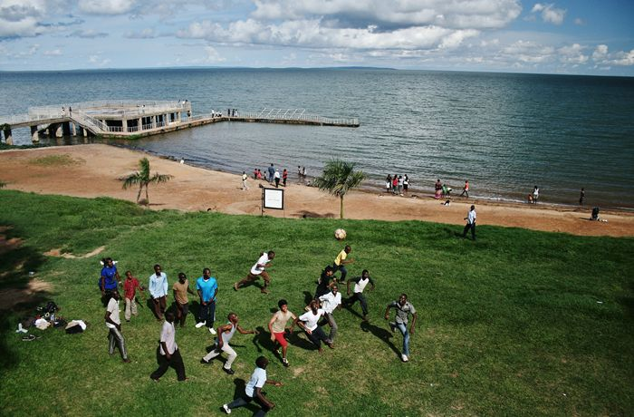 Lake Victoria is one of the African Great Lakes. The lake was named after Queen Victoria of the United Kingdom, by John Hanning Speke, the first European to discover this lake.