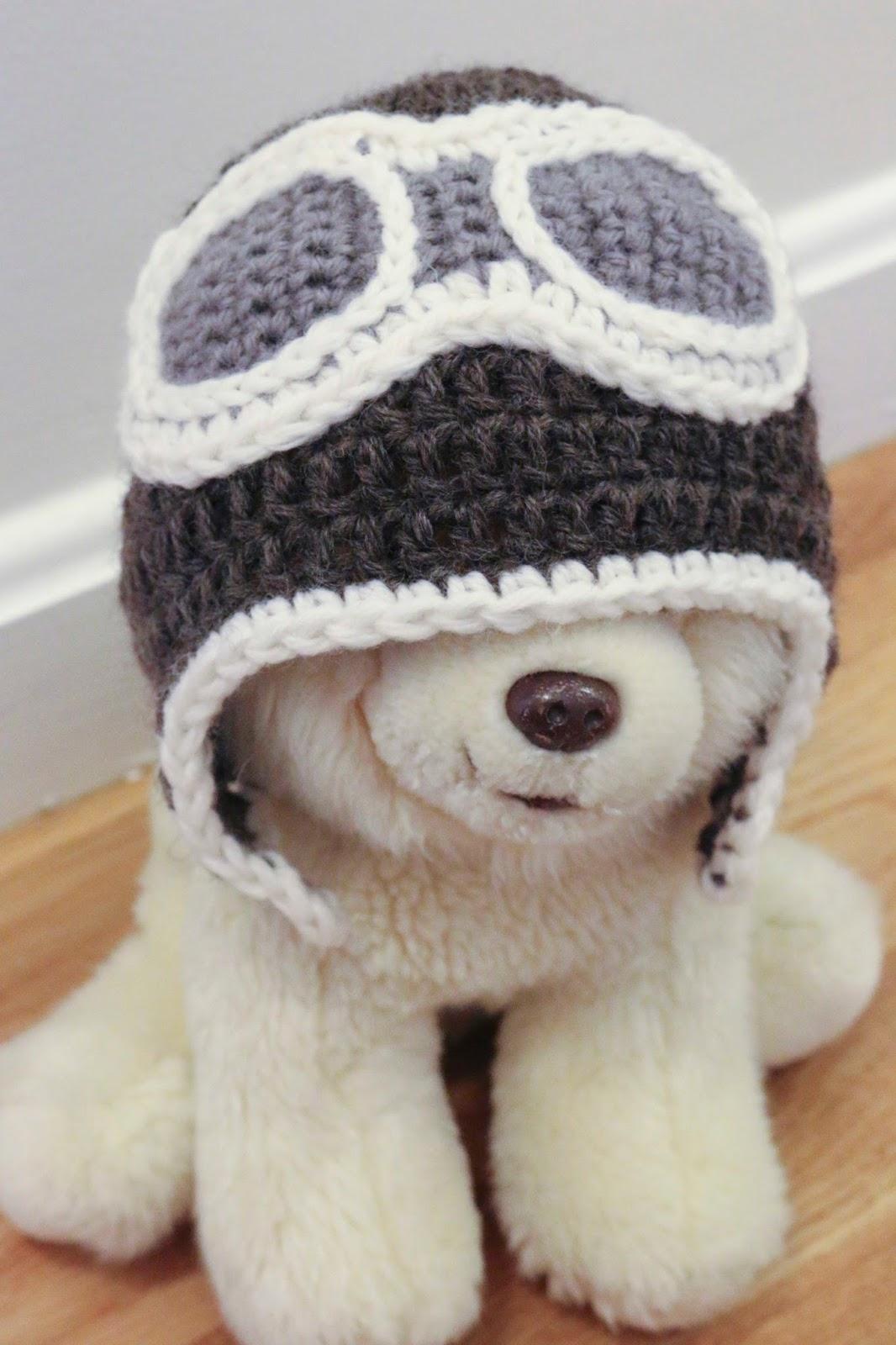 ChemKnits: Baby Aviator Hat
