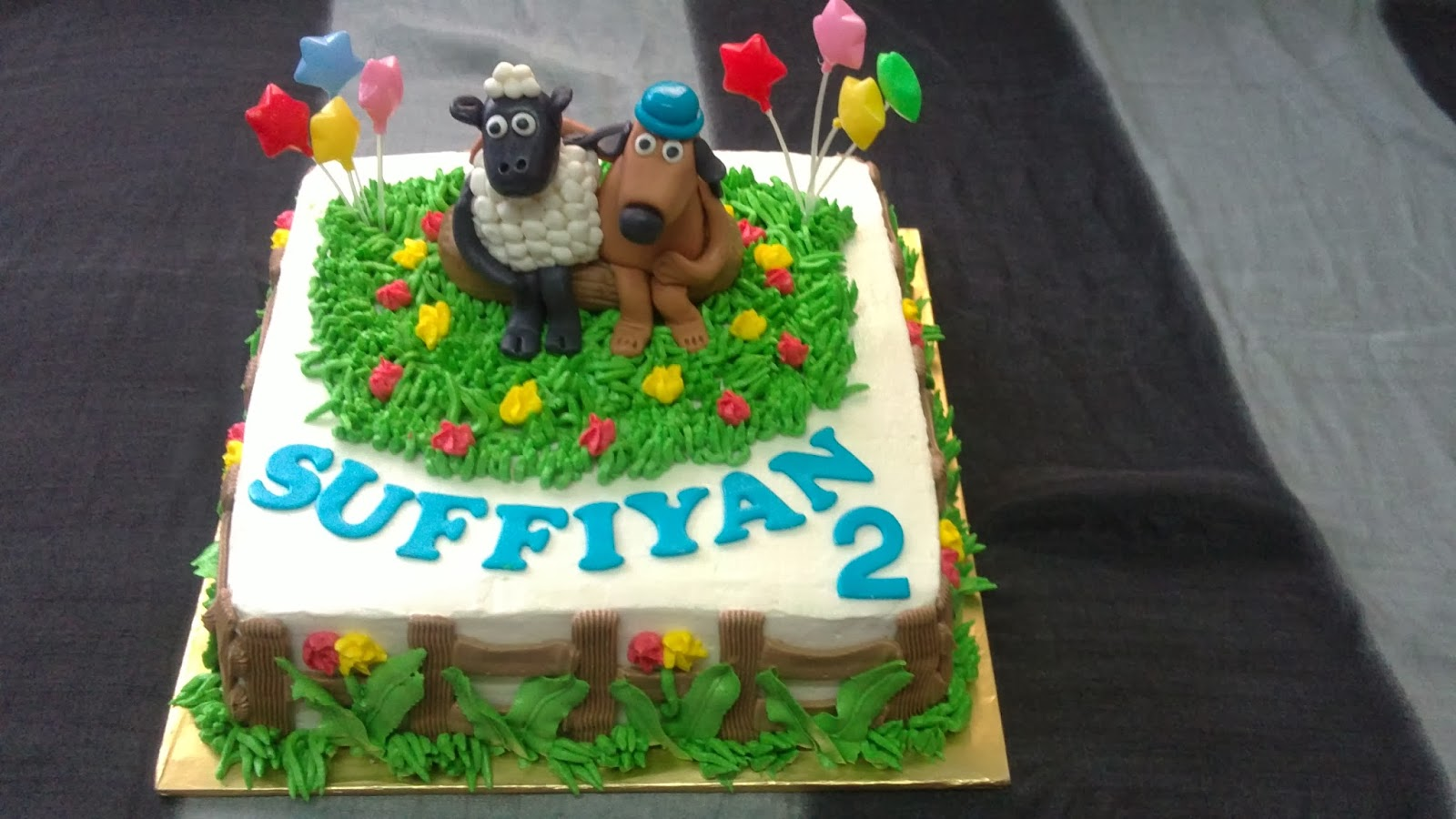 Sprinkles Cakes Cookies 3d Shaun The Sheep Butter Cake With