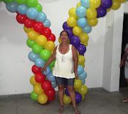 Curso de decoração com balão. (dscf )