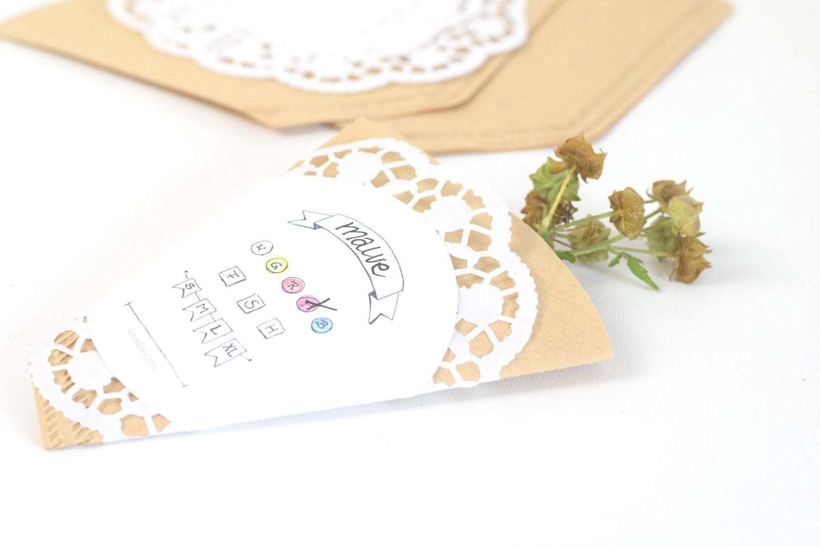 ZimtZebra: Samentütchen DIY - für eine gratis Blütenpracht im ...