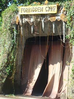 forbidden cave gate in Zoobic safari