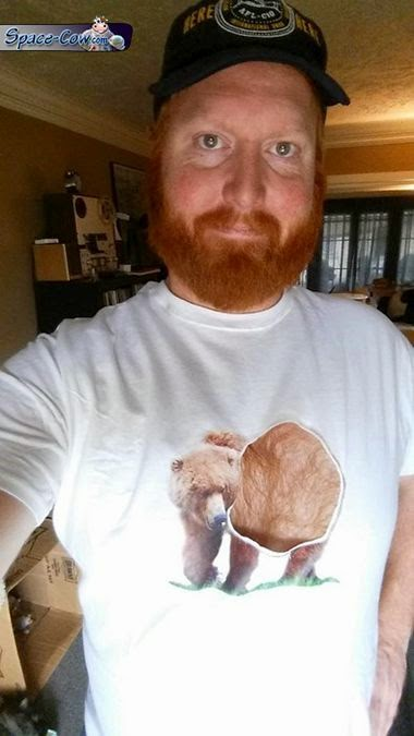 funny bear shirt picture