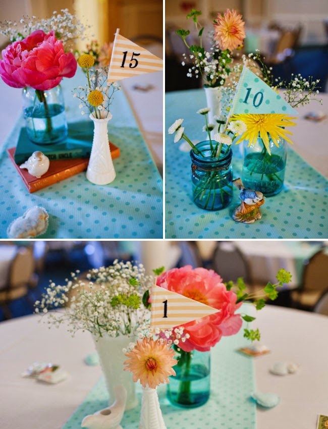 Homemade simple wedding centerpieces wedding stuff ideas for Homemade decorations