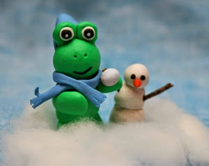 """January Frog"" by JadedJennifer"