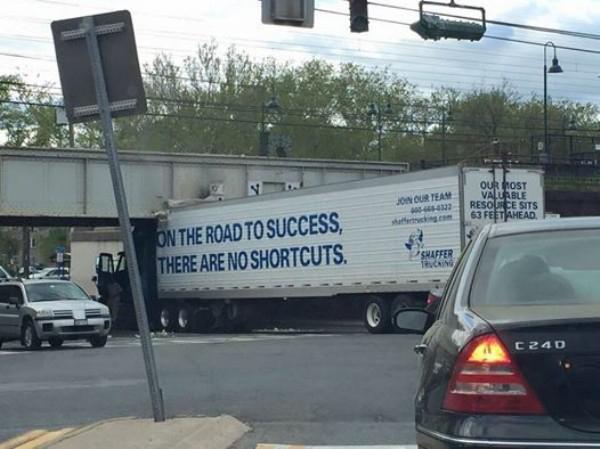 Camiones, puentes