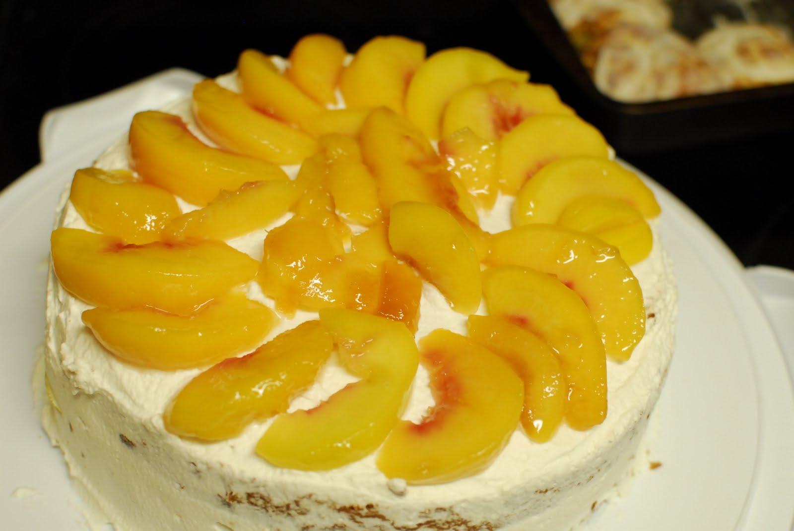 ParMieux Adventures: Coconut-Peach Layer Cake