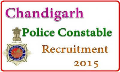 Chandigarh Police Recruitment 2015 for 520 Constable Posts