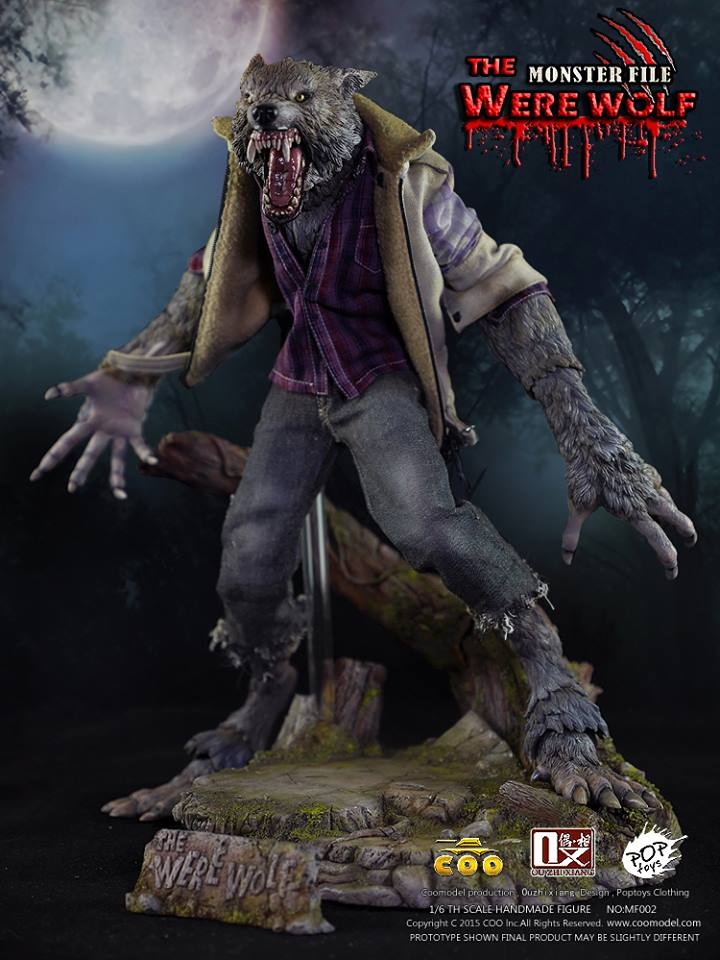 COOMODEL X OUZHIXIANG - Monster File Series - The Were Wolf E19