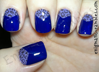 animal-print-stamped-half-moon-purple-nails-nail-art