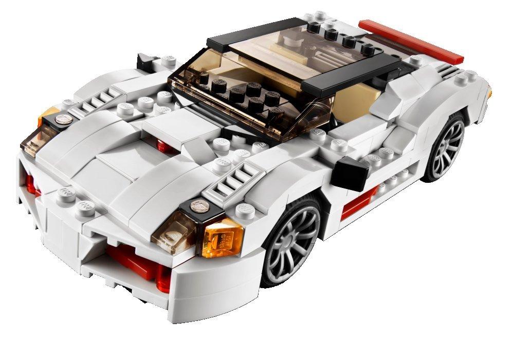 spiele und spieler lego creator 31006 sportwagen. Black Bedroom Furniture Sets. Home Design Ideas