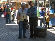 En el centro de Valparaíso