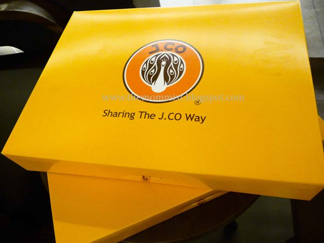 two boxes of J.Co donuts