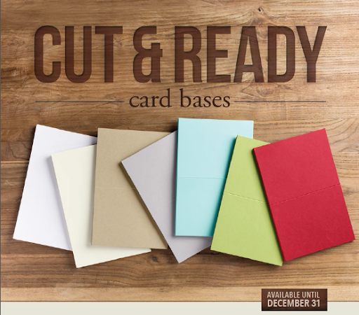 New!! Cut & Ready Card Bases