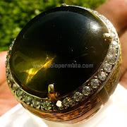 Cincin Batu Permata Green Fire Opal Jumbo - SP746