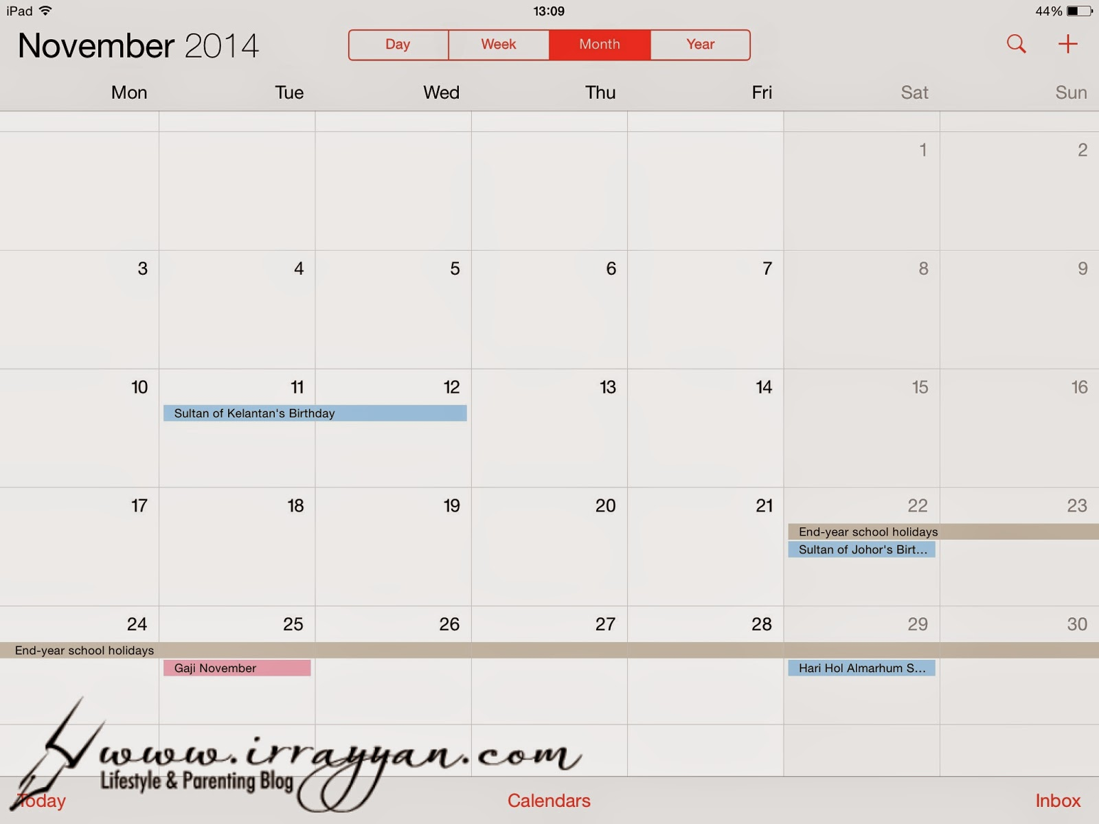 kalendar cuti umum dan am malaysia 2015