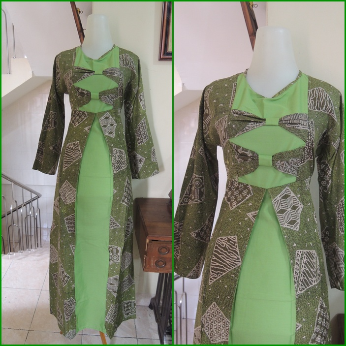 Palastri Shop  Gabriella Shop gamis batik koleksi 22 juni
