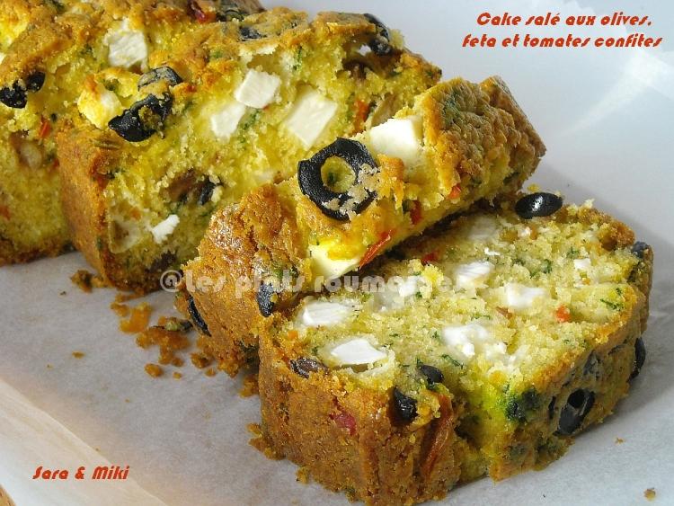 Recette Cake Sal Ef Bf Bd Feta Tomates Olives