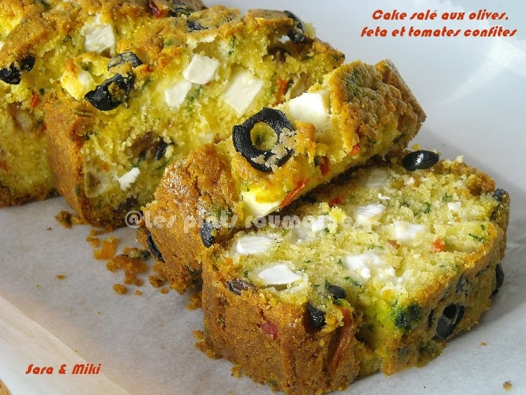 Cake Sal Ef Bf Bd Feta Tomates