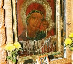 Icoana Maicii Domnului de la Mănăstirea Ghiughiu