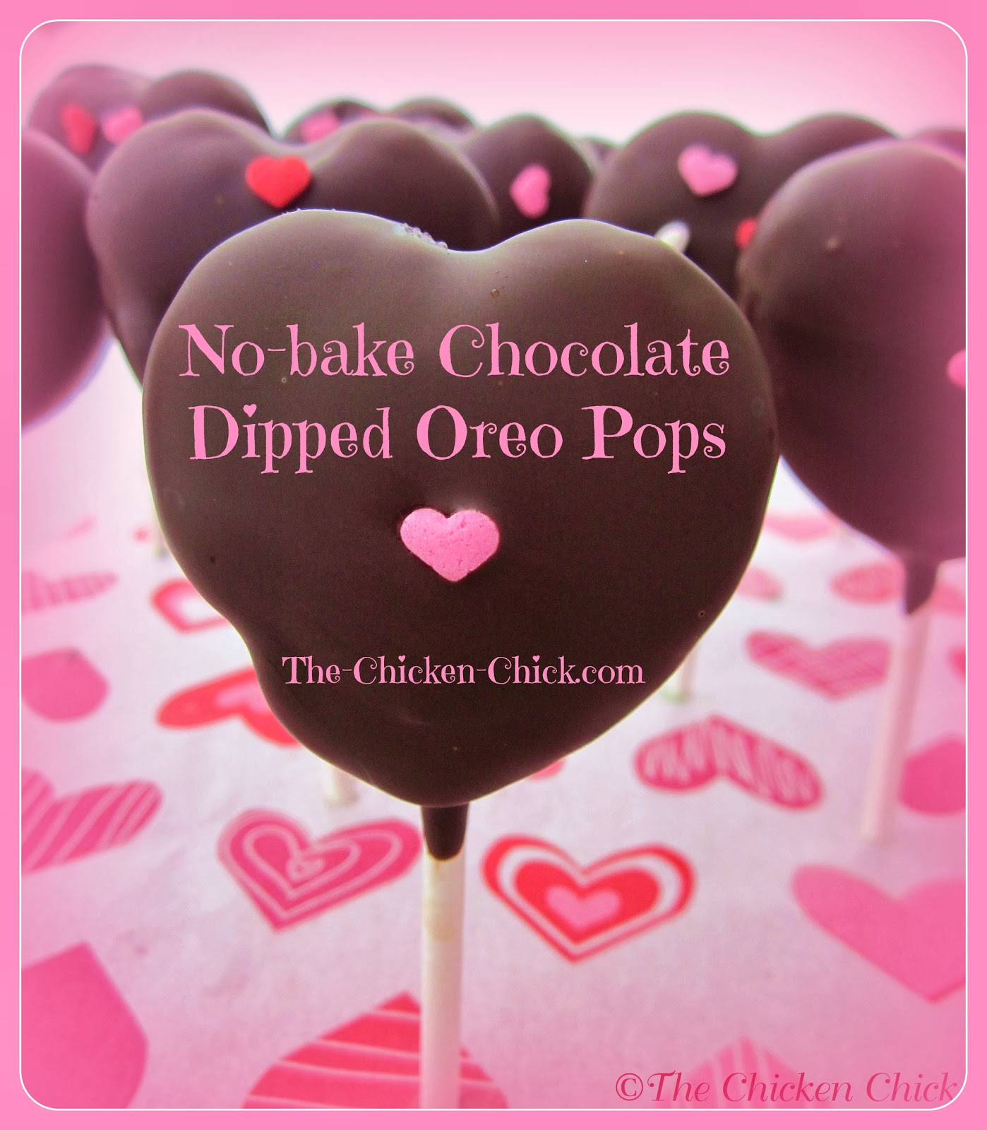 No-bake Chocolate Dipped Oreo Pops tutorial