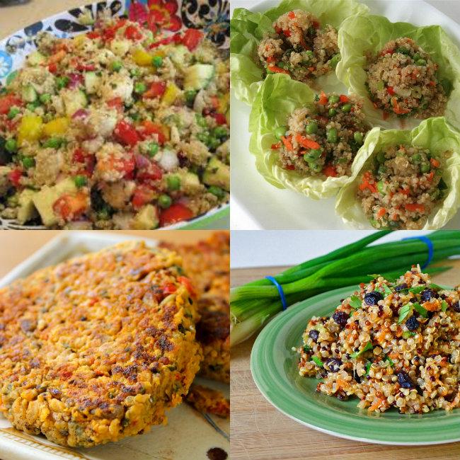 quinoa, superalimento, vegetarianismo, comidas lights, emagrecer