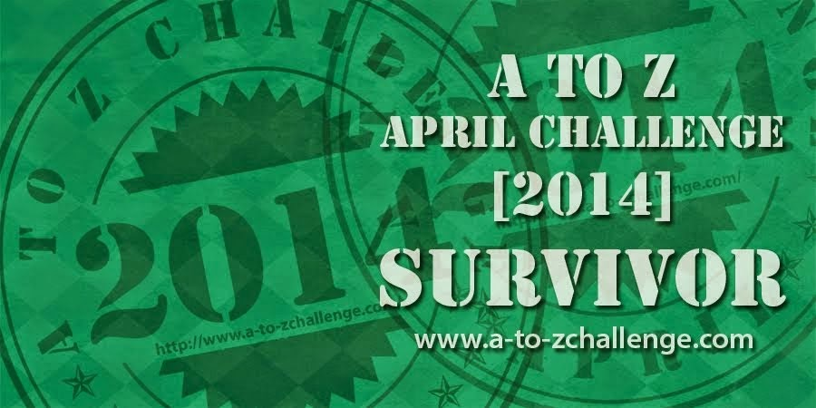 Survivor's Badge - A to Z - 2014