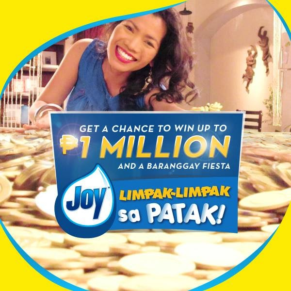 Joy Philippines Promo, Joy Limpak Limpak sa Patak promo, Joy promotion, Philippine promo