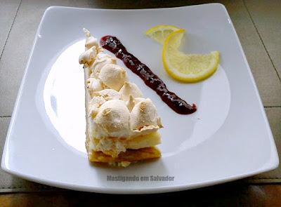 Lafayette: Torta de Limão