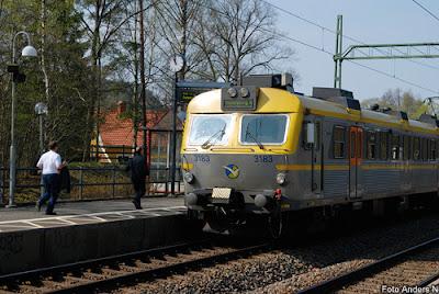 jonsered, jonsereds station, järnvägsstation, pendeltåg, göteborg, alingsås, foto anders n