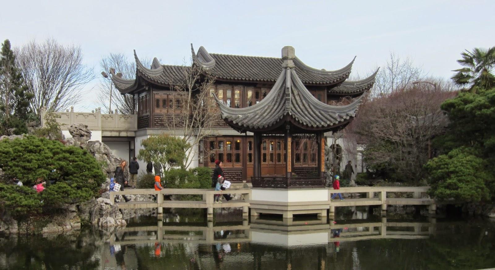 Lan Su Chinese Gardens, Portland, Oregon