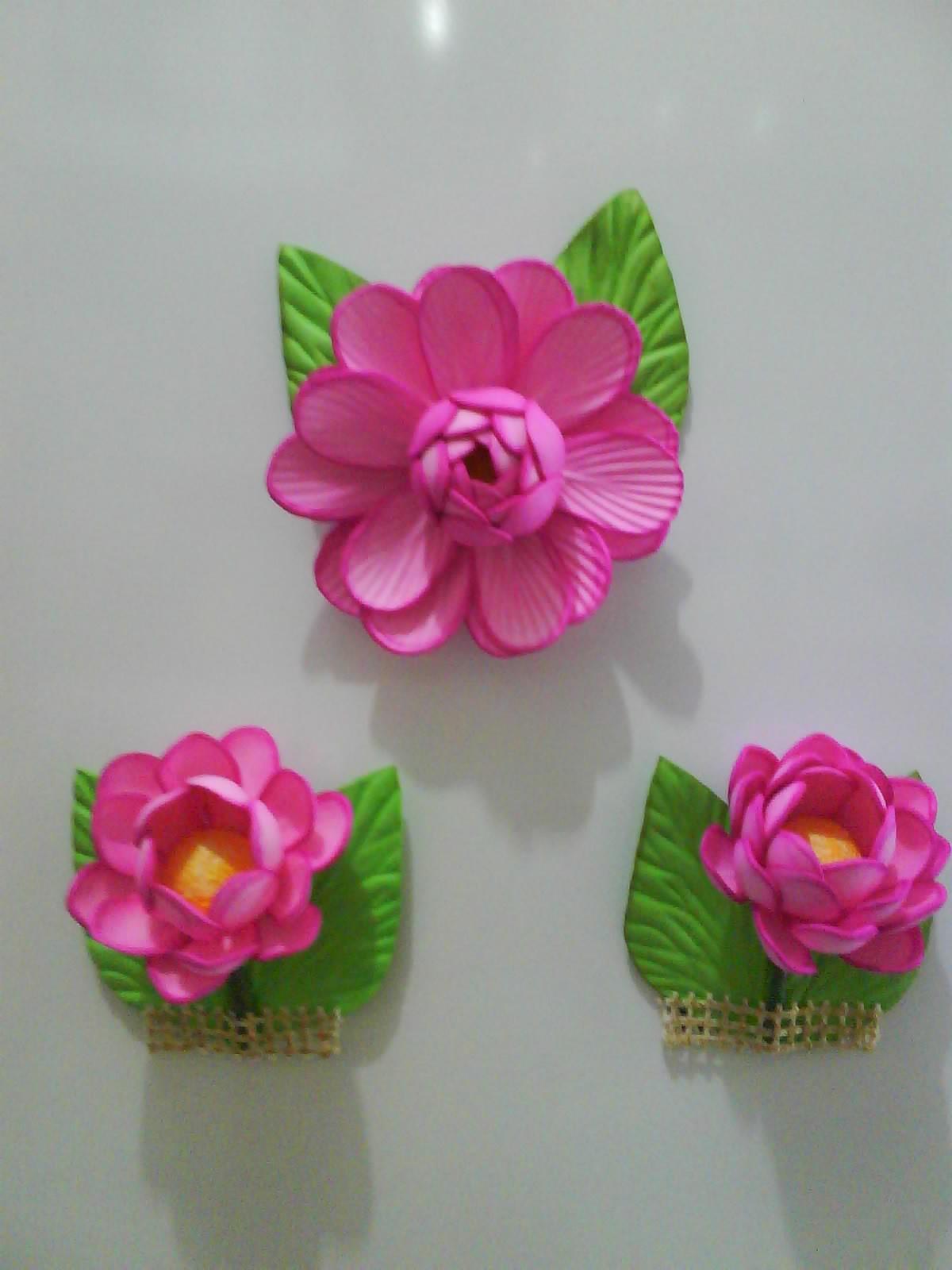 Enfeite De Eva ~ Arte& Flores em EVA Enfeites de geladeira