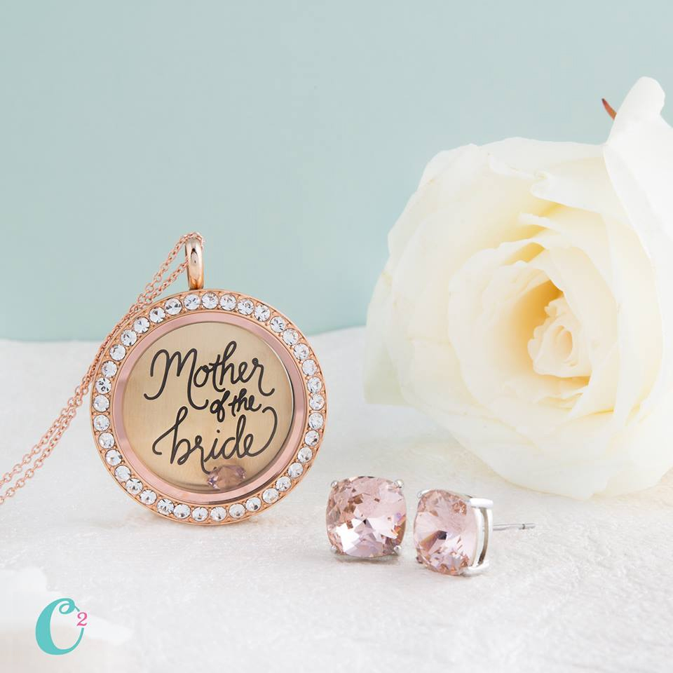 Mother of the Bride Origami Owl Living Locket from StoriedCharms.com