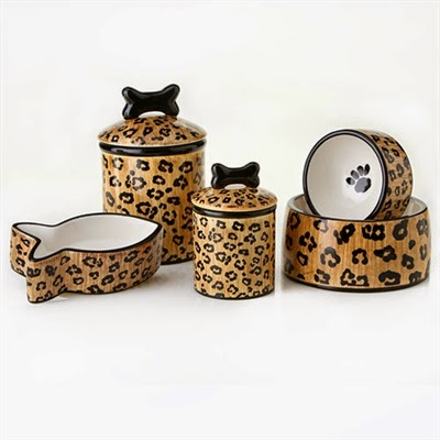 Ceramic Pet Bowls and Jars