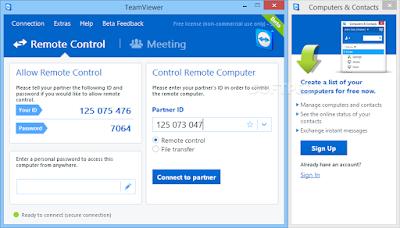 تحميل برنامج تيم فيور مجانا برابط مباشر Download TeamViewer 10.0.40798