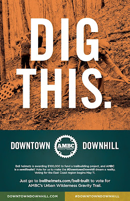 #DowntownDownhill, #BellBuilt, Bell-Built, gravity trail, Knoxville, Tennessee, mountain bike trail