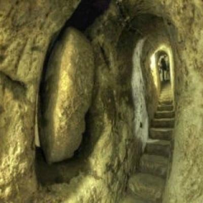 Cidade subterrânea de 2700 anos