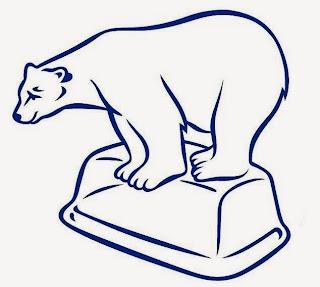 Peppy, the polar bear