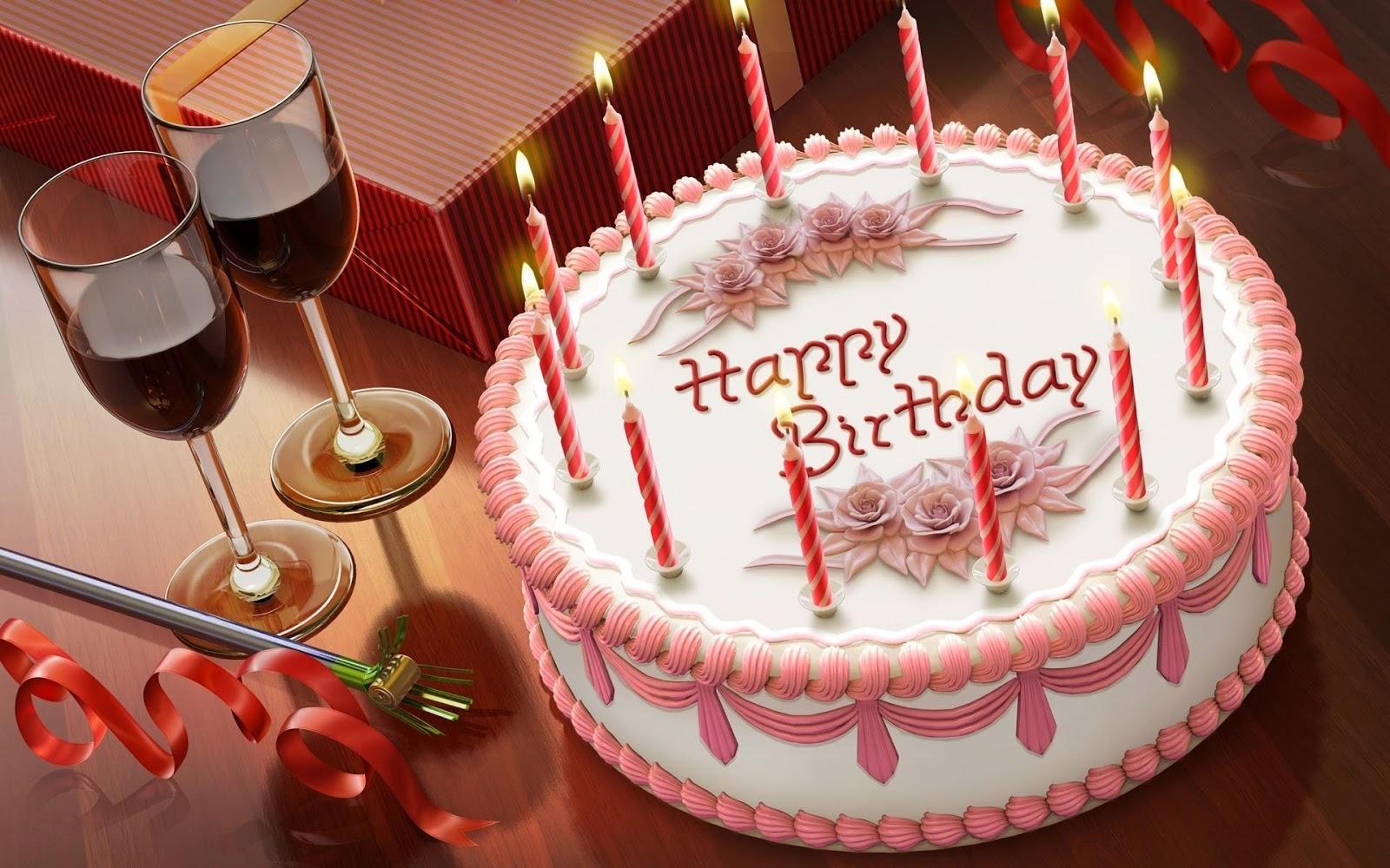 خلفيات كعكة عيد ميلاد