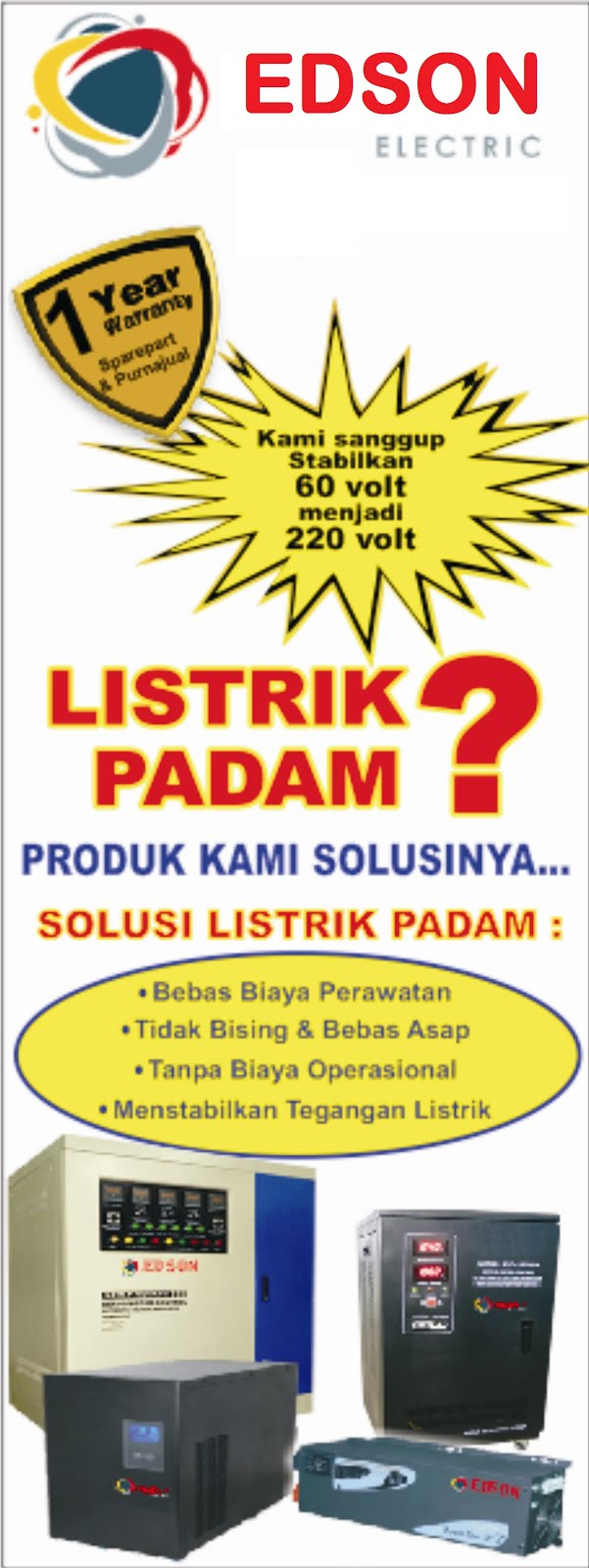 Produk EDSON Electric
