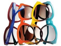 Vía Pinterest por Dafne Patruno desde http://bcncoolhunter.com/2013/03/gafas-sol-moda-primavera-verano-2013/ en Coach gafas de sol p/v 2013