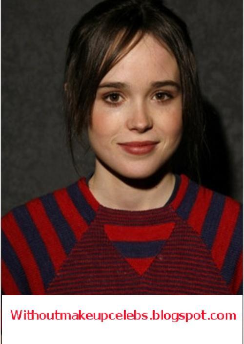 Ellen Page Without Makeup