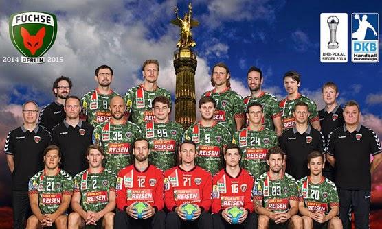 Nuevas camisetas del Füchse Berlín | Mundo Handball