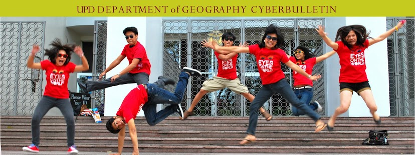 UPD Department of Geography CyberBulletin
