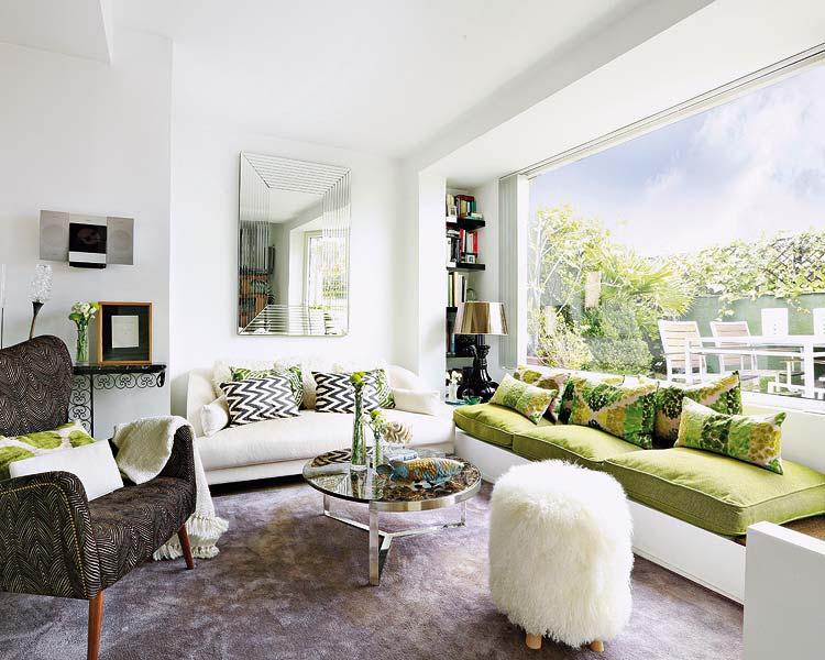 Renata ortiz interior design apartamento clean e for Interior design moderno