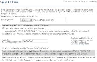 Step 4: apply for Fresh Passport\Re-issue Passport Offline image1